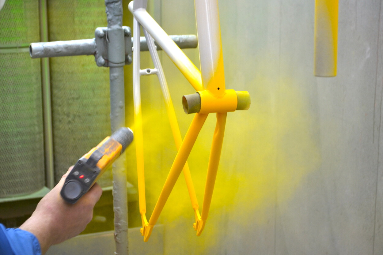 История совершенствования технологии порошковой покраски